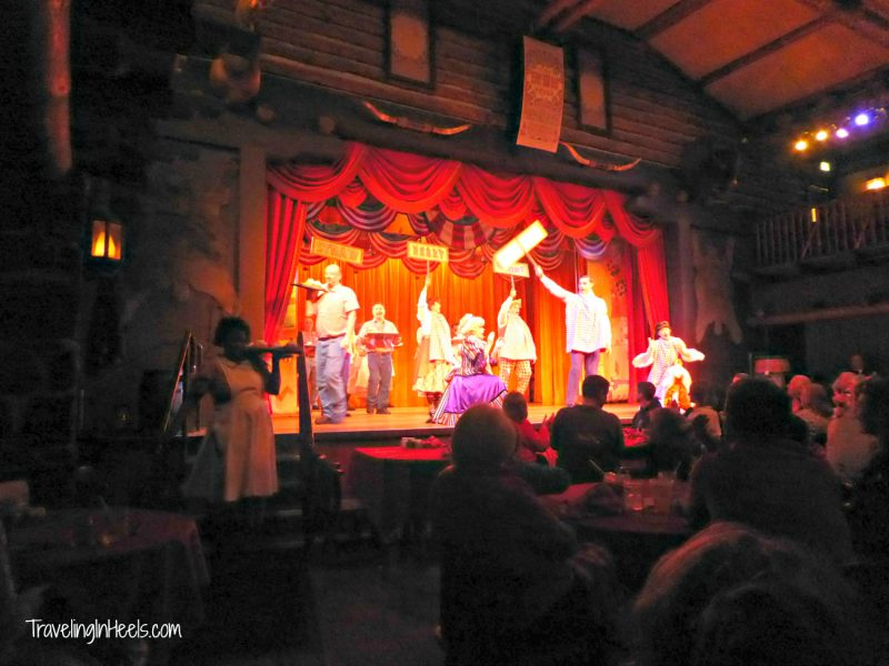 Walt Disney World Kids top 12 picks: #1 is Hoop Dee Doo Musical Revue-TravelingInHeels.com