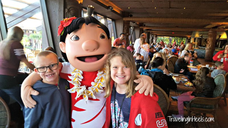 Character breakfasts are a fun way to meet Disney characters -- and the food is really good too.