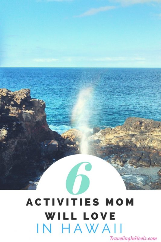 From waterfall hikes to shopping and dining adventures, 6 activies Mom will love in Hawaii