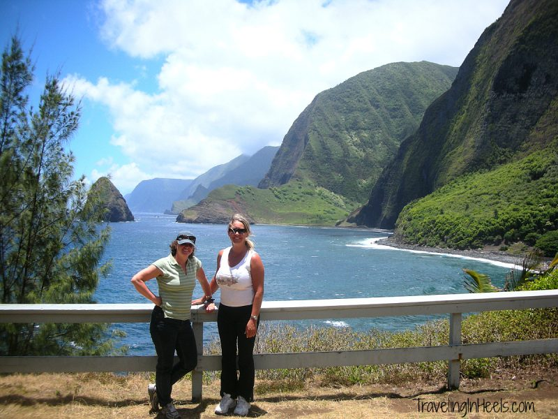 After lumbering down the famed sea cliffs on a mule, enjoy a hike in Kalaupapa National Historical Park is a United States National Historical Park located in Kalaupapa, Hawaiʻi, on the island of Molokaʻi. - TravelingInHeels.com
