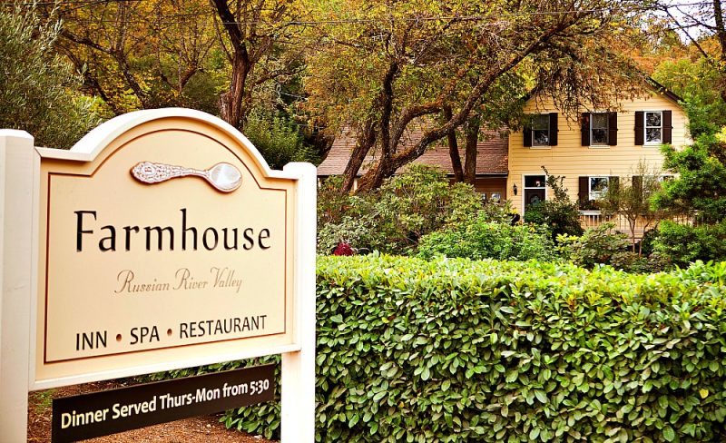 LUXURY INN: Farmhouse Inn, Forestville, California