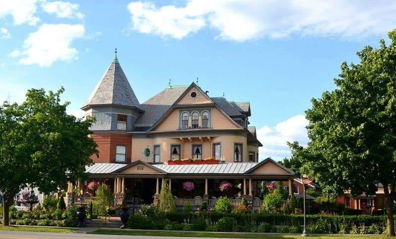 Victorian B&B: Union Gables, Saratoga Springs, NY