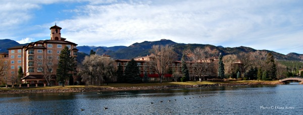 Welcome to my princess land, says my granddaughter, when entering the grounds of The Broadmoor, Colorado Springs hotel.