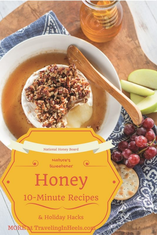 Honey 10-minute Recipes and Holiday Hacks