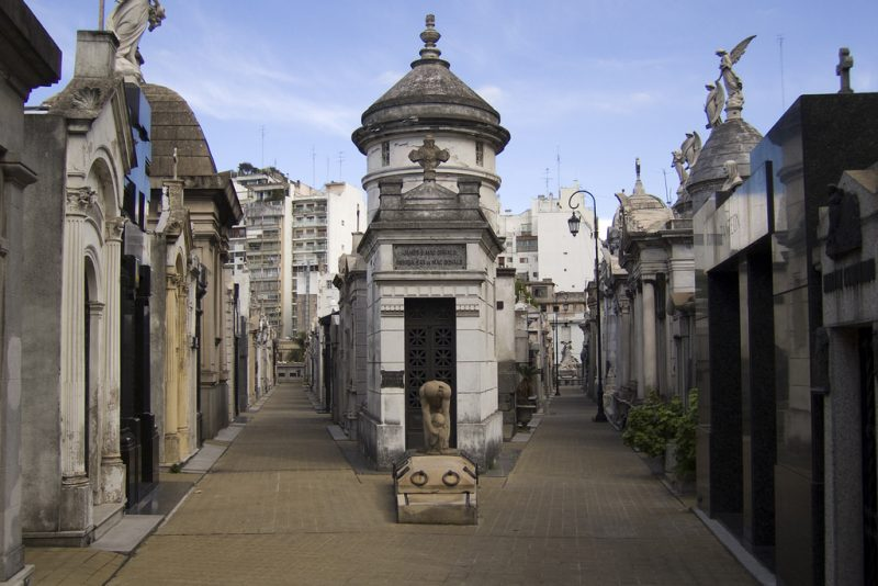 Don't miss this historic place in Buenos Aires,, the Recoleta Cemetery, one of the greatest cemeteries in the world. Photo credit: Flickr-andrewcurrie