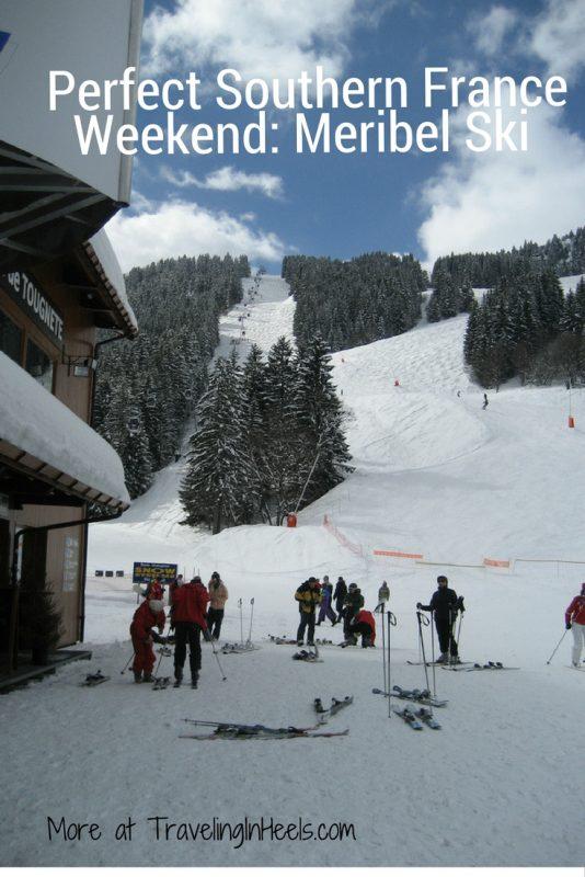 Perfect southern France winter getaway, Meribel ski weekend.