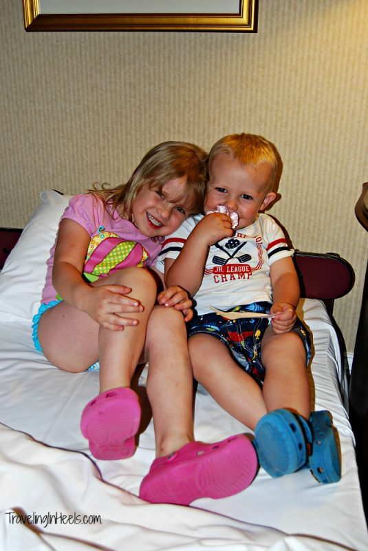 Grandkids' giggles and late night snuggles at The Broadmoor, Colorado Springs, Colorado