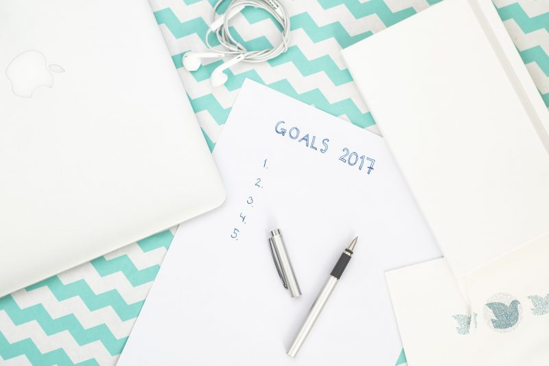 New Years Eve Ideas: Set goals for the New Year as a family.