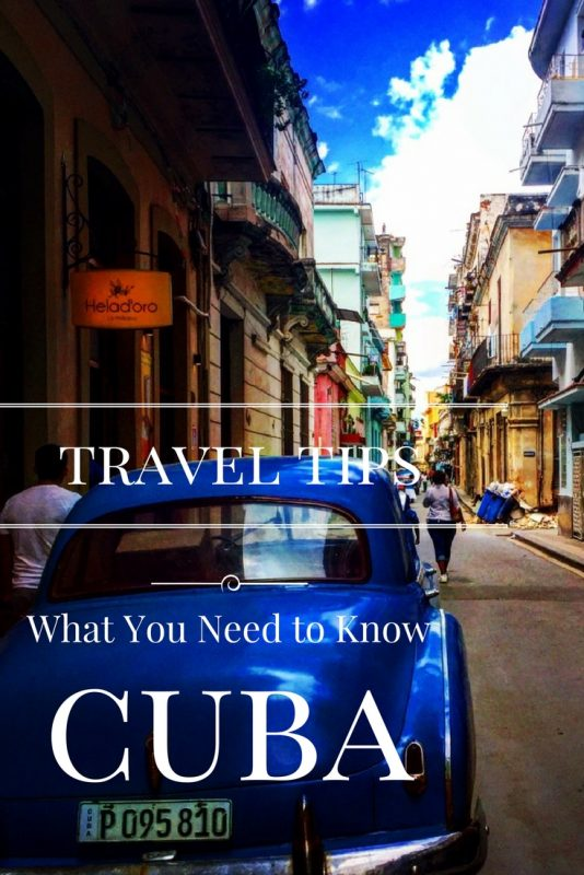 Cuba Travel Tips, what you need to know before and after you arrive. #cubatraveltips #cuba #travelingtocuba