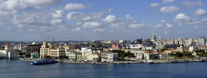 The capital, Havana, is lined with pastel houses, 1950s-era cars and Spanish-colonial architecture in the 16th-century core, Old Havana.