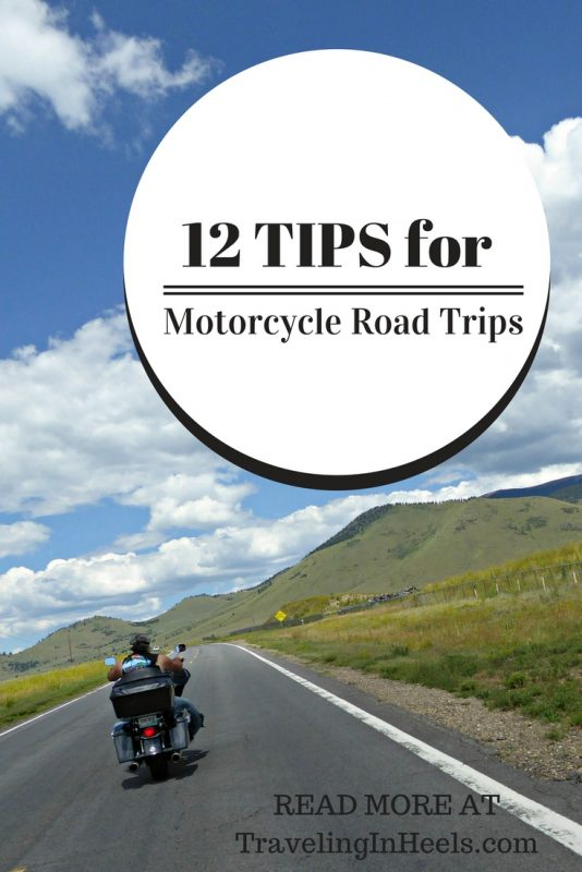 12 tips for motorcycle road trips.