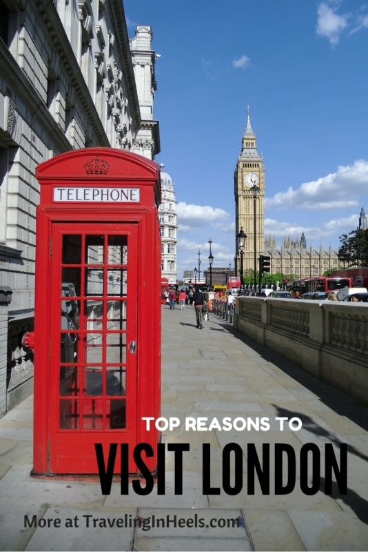 Top Reasons to Visit London