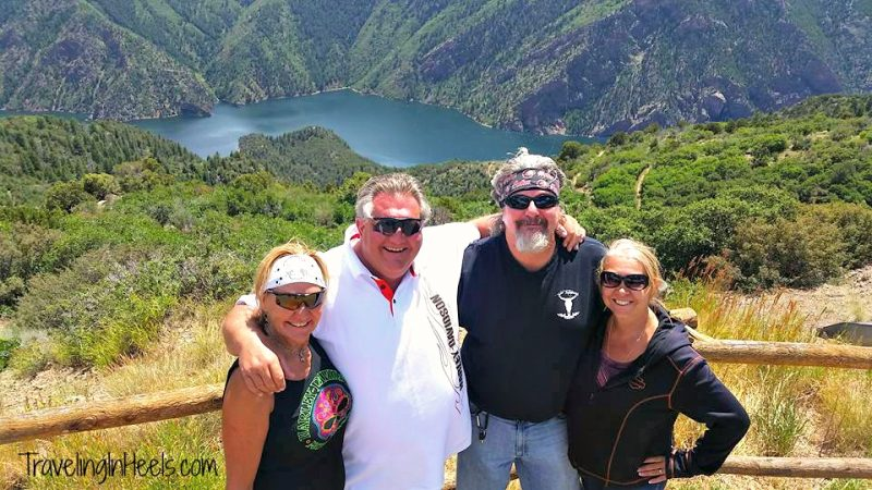 Tips for motorcycle road trips: Take photos! How else could you remember this epic view of the Black Canyon of the Gunnison National Park via the West Elks Loop