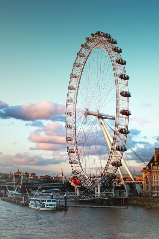 A must do and see in London's South East end: The London Eye