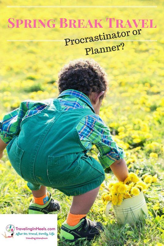 Spring Break Travel- Procastrinator or Planner?