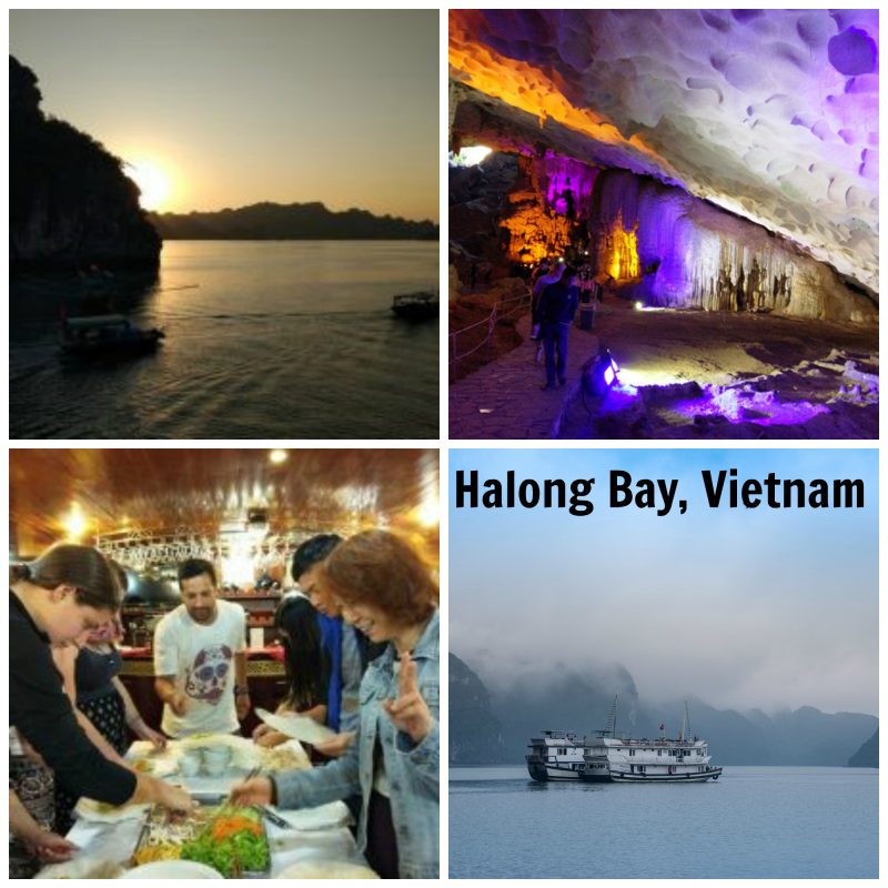Do not miss a visit to Halong Bay, budget travel guide to Vietnam