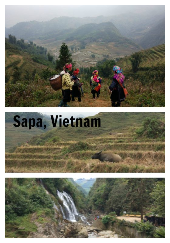 Sapa, Vietnam is a quiet mountain town with many things to do.