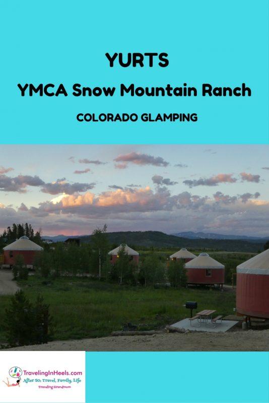 Colorado Glamping - YMCA Snow Mountain Ranch - yurts