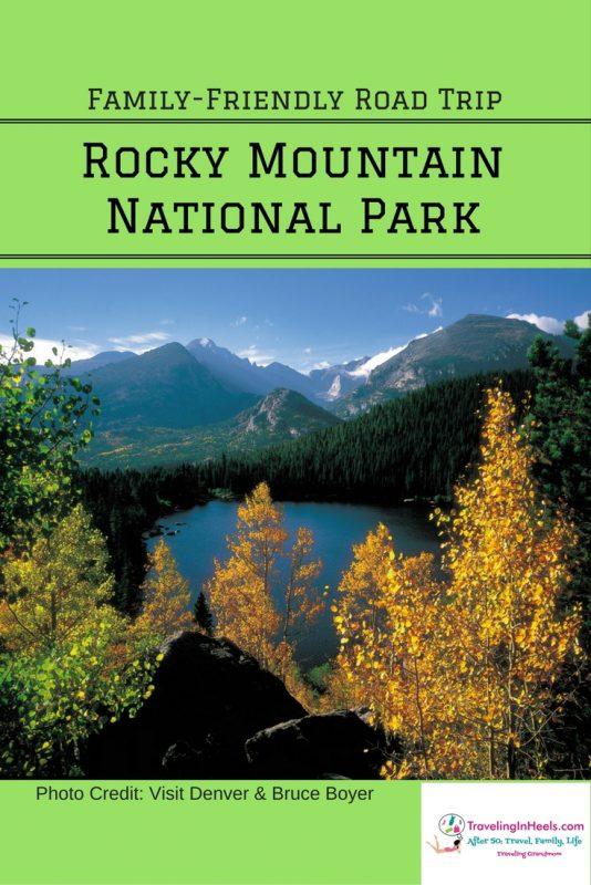 Family Friendly Road trip Rocky Mountain National Park