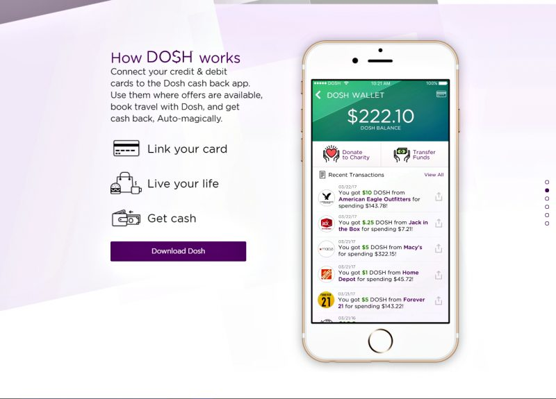 How Dosh App works