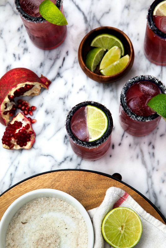 Pomegranate Margarita: Low-Calorie Margarita Recipes for International Tequila Day