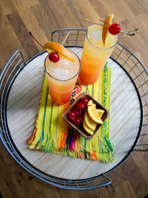 Sparkling Tequila Sunrise: Low-Calorie Margarita Recipes for International Tequila Day,