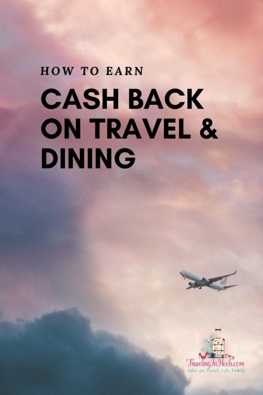 How to Earn Cash Back on travel, dining, activities, and attractions.