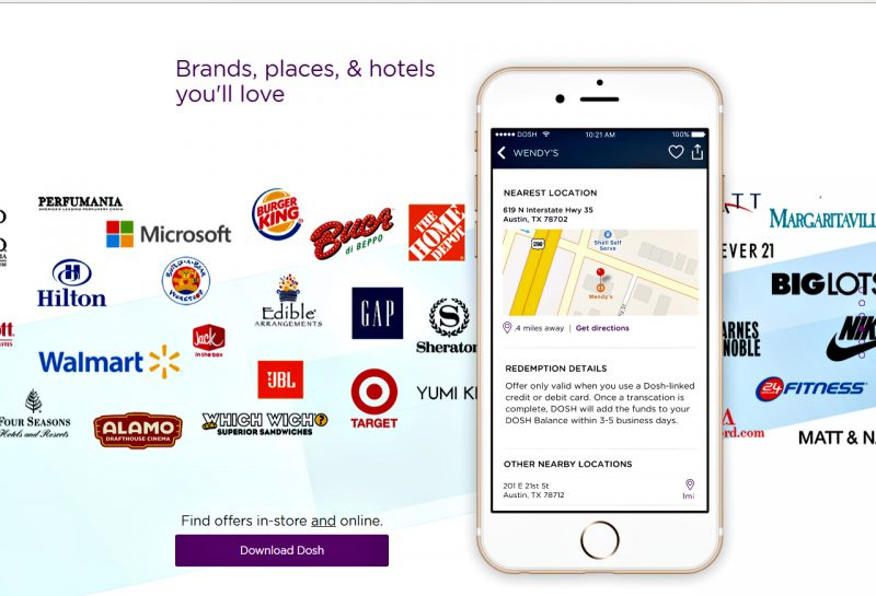 Shop all the brands, hotels, attractions and more and earn cash back with Dosh App.