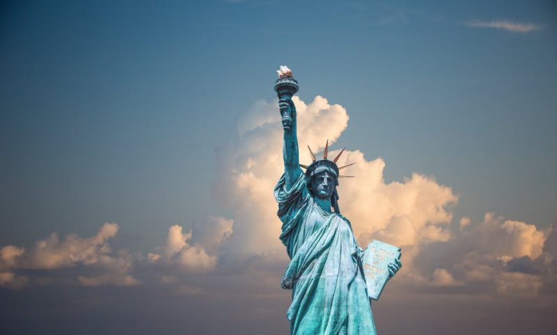An iconic visit to the Statue of Liberty in New York city is 1 of 3 best weekend getaways in the U.S.A.