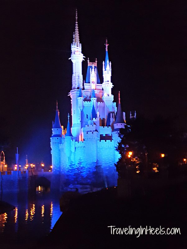 One of the most magical places is Walt Disney World at the Magic Kingdom with its night shows.
