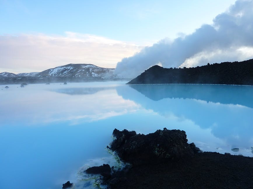 A spa treatment at Blue Lagoon, Iceland, possibly one of the best travel destinations to improve health and wellbeing.