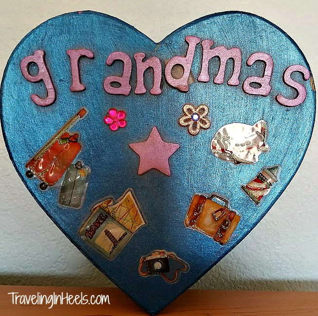 Get crafty for Grandparents Day. Give a handmade personalized gift.