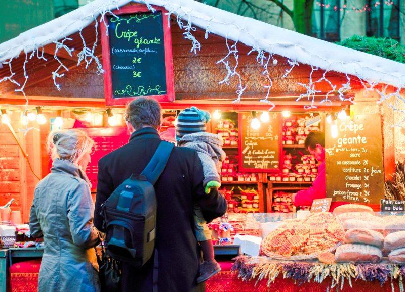 Winter wonders of the Christmas Market in Brussels. Photo Credit: Visit Belgium