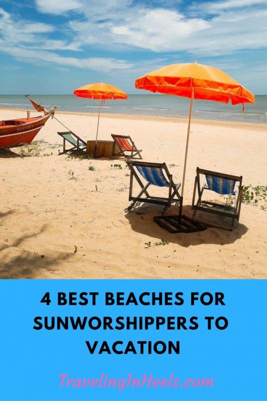 4 best beaches for sunworshippers for beaches
