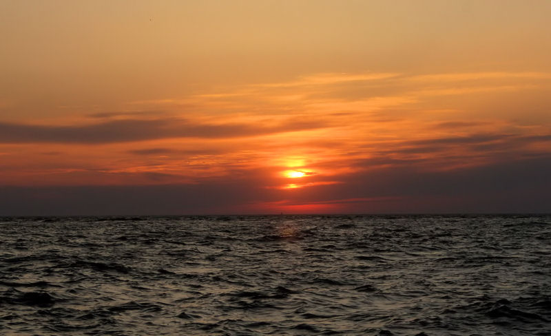 Your definitive U.S. East Coast Beach guide: Don't miss the Sunset at Sunset Beach in Cape May, NJ.