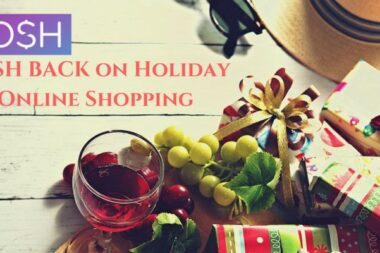 Bring it on! DOSH Cash back on holiday online shopping.