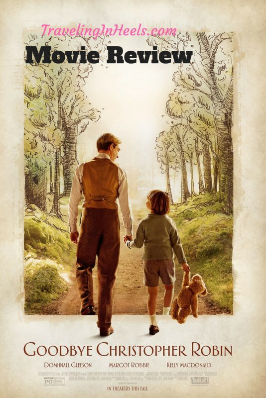 Movie Review Goodbye Christopher Robin | TravelingInHeels.com