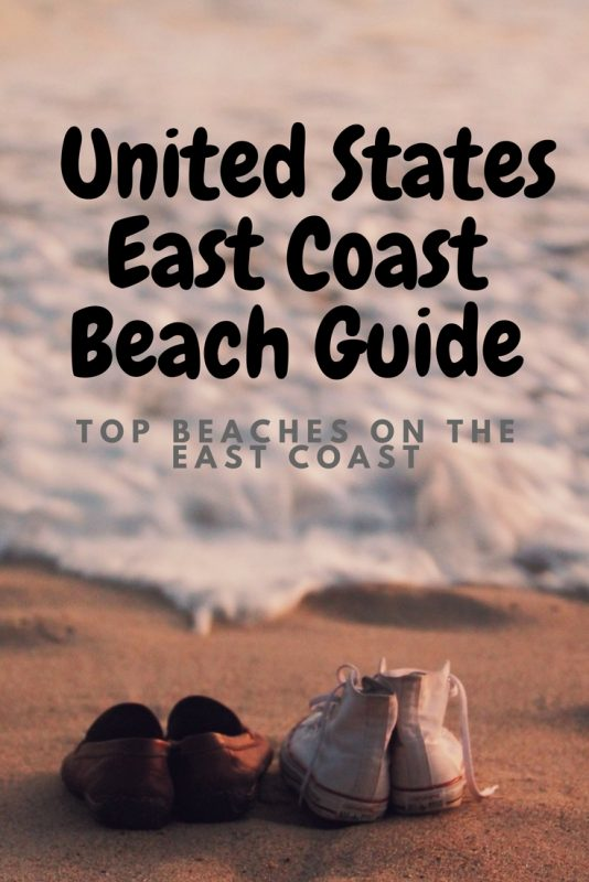 Top beaches on the definitive US East Coast Beach guide