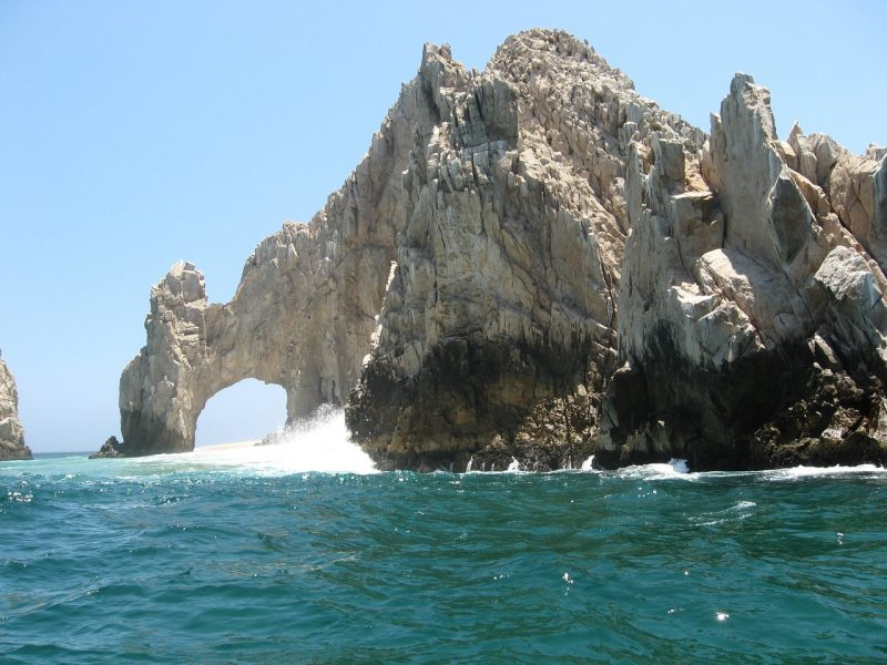 Say hola to a view like this when taking in the famous El Arco in Cabo, Mexico.