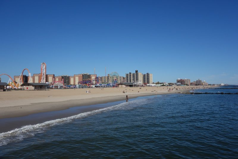 The Definitive US East Coast Beach Guide would not be complete if it did not include the beach and boardwalk at Coney Island, New York.