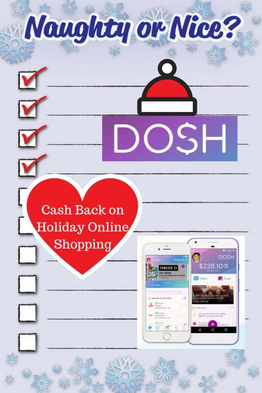 Ready, set, download for Dosh cash back on holiday online shopping.