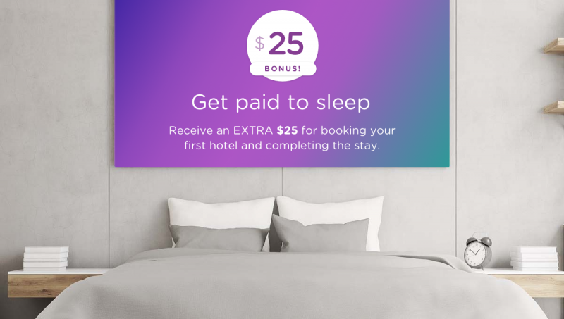 Earn $25 extra cash back while you sleep when using your DOSH app.