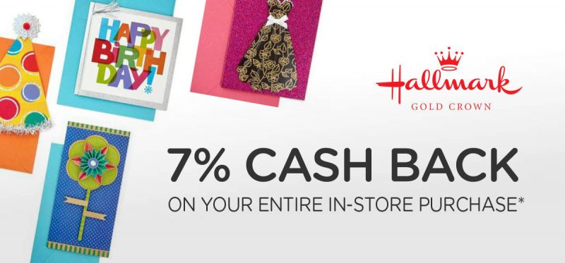 The gift that keeps giving Hallmark and earn 7% cash back with your Dosh app.