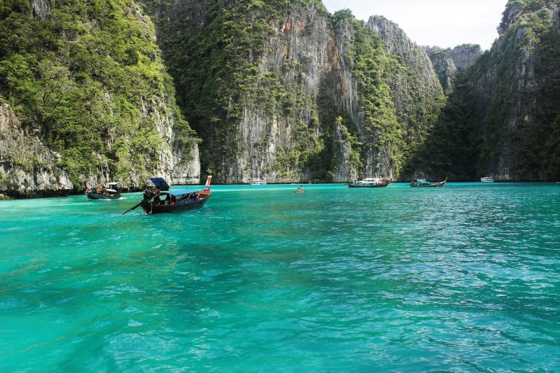 Go ahead and pack your bags for one of these best beachs for sun worshippers including Ko Phi Phi beach in Thailand,