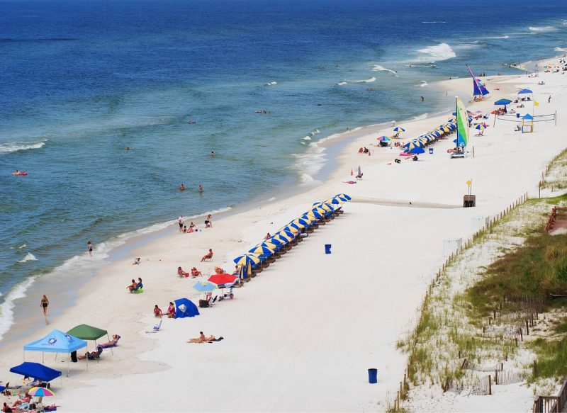 Our top pick for this East Coast Beach Guide (Gulf of Mexico side) is the Panama City Beach in Florida.