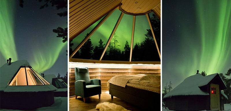 Aurora Bubble & Winter Wonderland trip to Finland