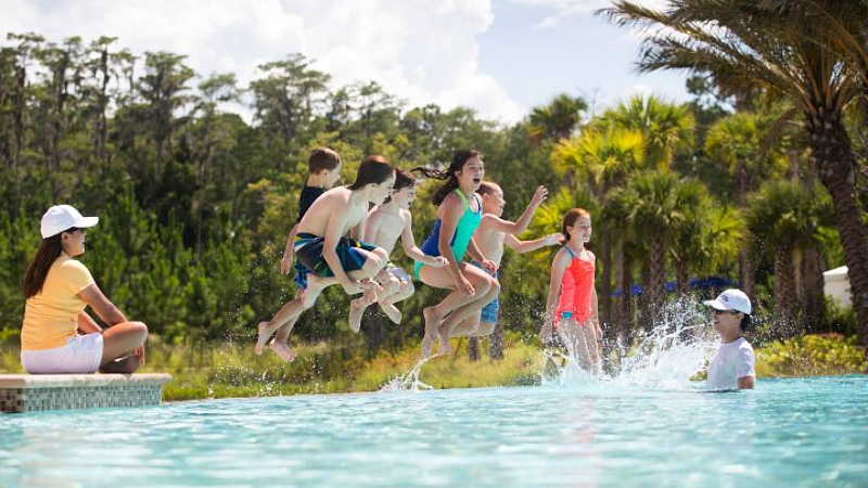 Always a bonus when your Family travel planning includes complimentary kids' club! Photo Credit: Four Seasons Resort Orlando at Walt Disney World