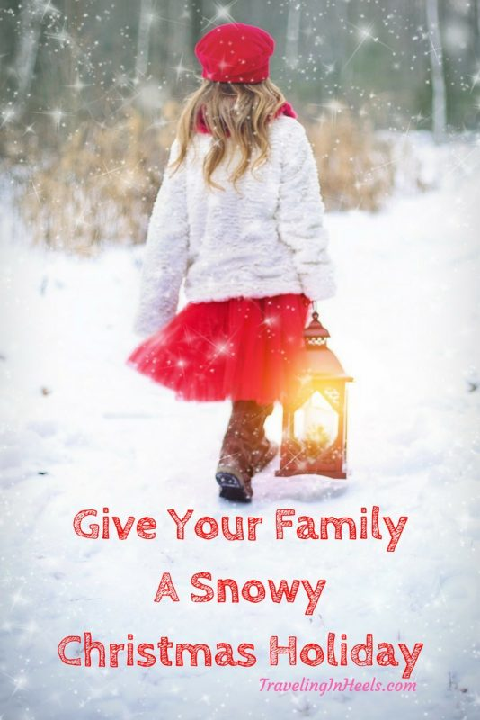 Give your family a snowy Christmas holiday