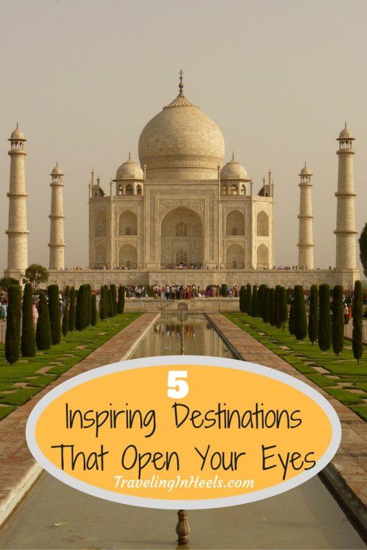 5 Inspiring destinations that open your eyes