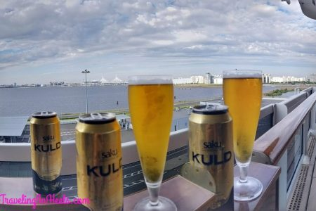 Saku Brewery is an Estonian brewery and soft drinks company based in Saku. It was founded in 1820 by the local Baltic German landlord Graf Karl Friedrich von Rehbinder.